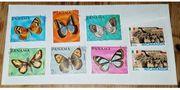 Briefmarken2 x Nicaragua6 x Panama