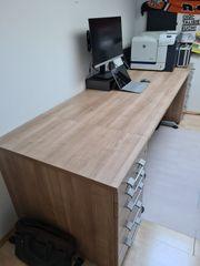 Verkaufe hochwertigen Schreibtisch 160x80 mit