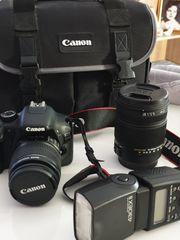 Canon EOS 550D Spiegelreflexkamera