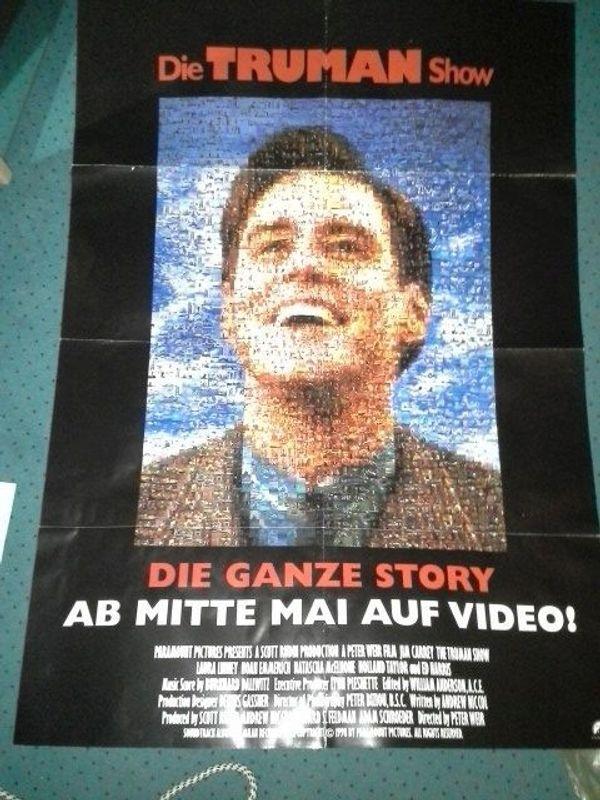 A1 Videothek Plakat 1998 The
