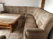 Ecksofa mit 2 Sesseln Liege