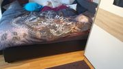 Boxspringbett 140x200 inkl Tonnentaschen Federkernmatratze