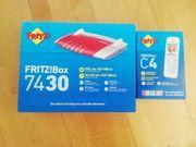 Fritzbox 7430 mit Telefon C4