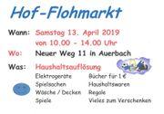 Hof-Flohmarkt