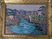 Goblem Mostar Handarbeit Bild mit