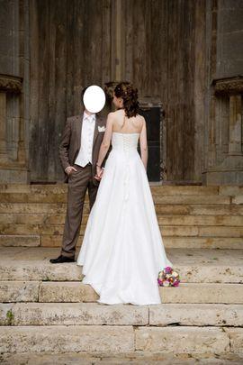 Bild 4 - Hochzeitskleid elfenbeinfarben Gr 36 - Garching