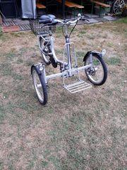 Dreirad für Erwachsene Senioren Menschen
