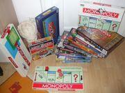 Diverse Monopolys zu verkaufen