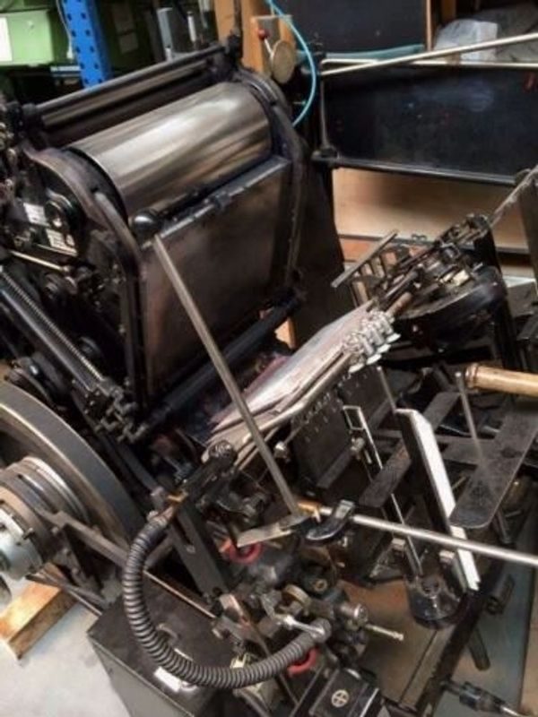 Original Heidelberger GT A3 - Tiegeldruck- und Stanzautomat