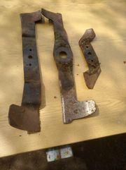 3 Gebrauchte Rasenmäher Messer