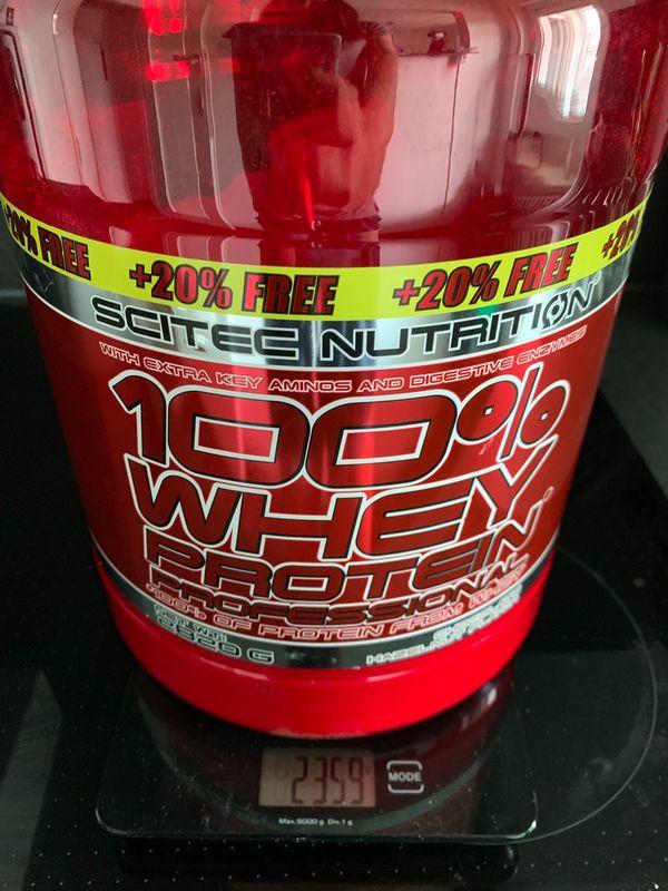 Scitec Nutrition Proteinpulver Schoko-Haselnuss