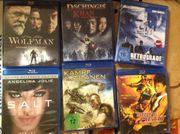Verschiedene Blu Rays