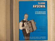 Slavko Avsenik Steirische Harmonika - Griffschrift