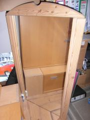 Echtholz- Spiegel 105cm hoch - 60cm