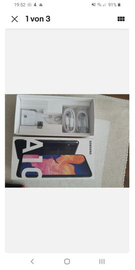 Samsung Handy - Samsung A10 wie neu