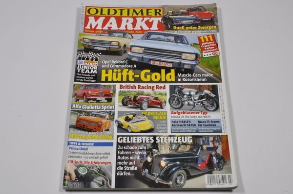 Oldtimer MARKT 07 2014 - Opel