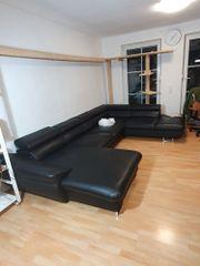 echtes Leder-Sofa