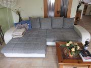 große Couch mit Bett- bzw