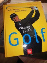 Buch über das Golfen