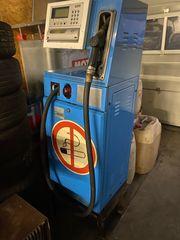 Tankstelle Zapfsäule