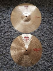 Paiste 2002 Crunch HiHat Schlagzeug