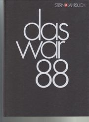 Stern-Jahrbuch Das war 1988