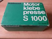 Super 8 Motorklebepresse hähnel S1000