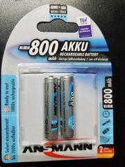 Akku Batterien 800 mAh