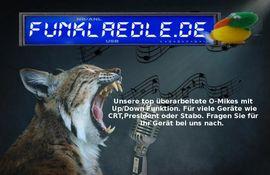 Albrecht Electret Mikrofon mit up: Kleinanzeigen aus Großerlach - Rubrik CB, Amateurfunk