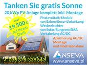 Photovoltaik 20 kWp SOLARANLAGE KOMPLETT