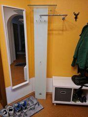Garderobe - platzsparend - Glas -