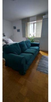 3er Ektorp Sofa grün oder