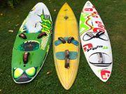 komplettes Surf Equipment 3 Bretter