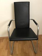 4 hochwertige Design Stühle zu