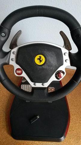Lenkrad-Pedalset Trustmaster Ferrari wireless: Kleinanzeigen aus Walldorf - Rubrik PlayStation Sonstiges