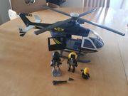 SEK Hubschrauber Zivilfahrzeug Fahrzeug Playmobil