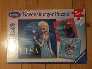 Ravensburger Puzzle 3x49 Disney Eiskönigin