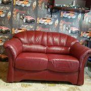 Ledercouch 2-Sitzer