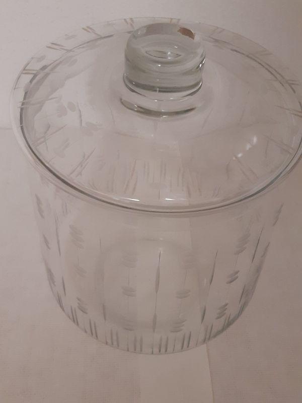 Glasbowle-Behälter-Topf