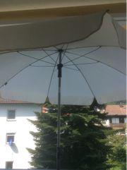 2 Sonnenschirme mit Ständer 1