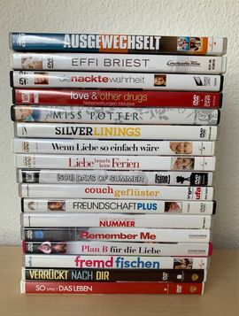 CDs, DVDs, Videos, LPs - 51 Filme DVDs 8 für