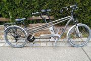 Flyer-Tandem E-Bike mit Rohloff Spedhub