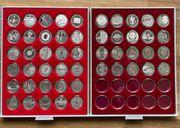 50 x 10 Euro Silbermünzen