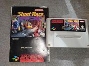 SNES Stunt Race FX mit