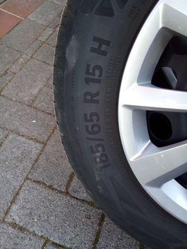 Sonstige Reifen - 4 Sommerreifen Continental 185 65