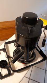 Espressomaschine KENWOOD Siebträger Milchaufschäumer