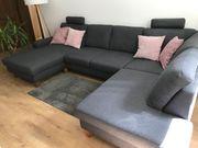 Sitzgarnitur Sofa Couch Wohnlandschaft