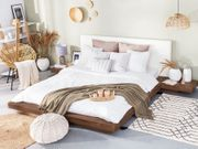 Wasserbett Holzfarbton 180 x 200