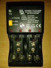 Batterie- bzw Akkulader Universal MW3288GS