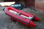 Festrumpf-Schlauchboot RIB mit motor
